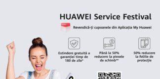 Huawei lanseaza aplicatia MyHuawei