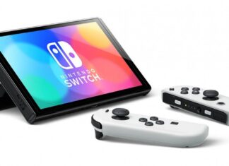 Nintendo Swtich cu ecran OLED (1)