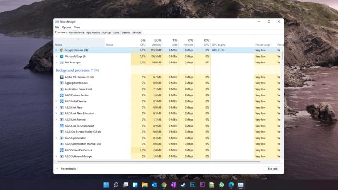 Cum deschizi Task Manager in Windows 11